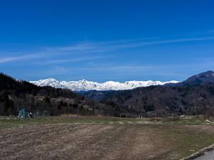 信州の山と空