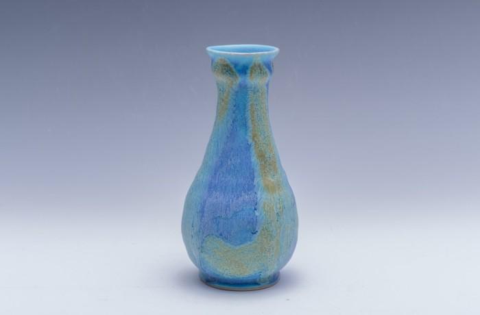 花器 青釉